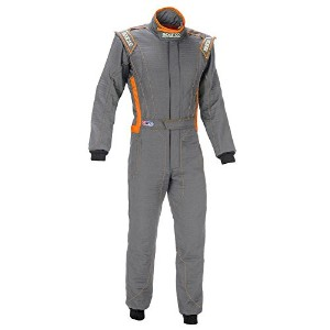 Sparco 001129H58GRS Sparco- Nomex スーツ, Victory Rs-4 58 Gry 0KC4U (海外取寄せ品)