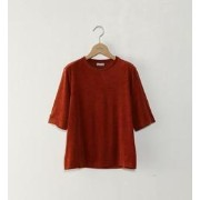 <Steven Alan>VELOUR CREW NECK CUT SEW/カットソー【ビューティアンドユース ユナイテッドアローズ/BEAUTY&YOUTH UNITED ARROWS Tシャツ...