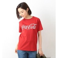 【FUGDE 5月号掲載】Coca-Cola & Fruit of The Loom by BEAMS BOY / プリント Tシャツ【ビームス ウィメン/BEAMS WOMEN レディス Tシャツ...