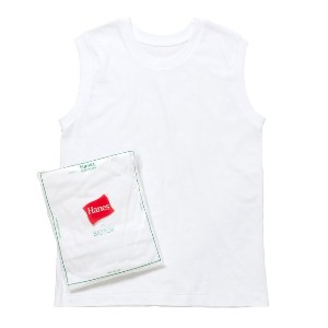 【Hanes FOR BIOTOP】2-Pack Sleeveless T-shirts