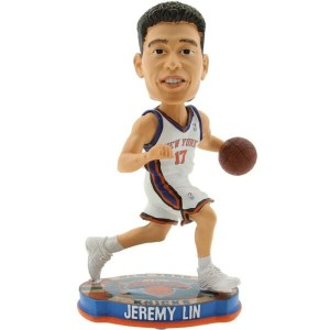 NBA NBA おもちゃ 【Forever Collectibles NBA Jeremy Lin Basketball Base Bobble Head 】