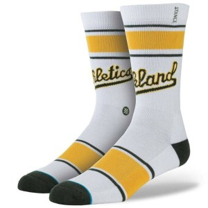 スタンス Stance インナー ソックス【Stance x MLB Men Oakland Athletics A's Socks 】