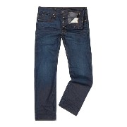 ジースター メンズ ボトムス ジーンズ【G-Star 3301 Straight Dark Aged Hydrite Jeans】Light Blue