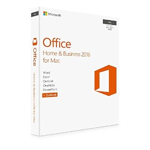 Microsoft Office Home & Business 2016 for Mac 2台用 マイクロソフト オフィス ホーム&ビジネス パッケージ版
