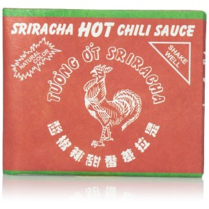 Dynomighty - SRIRACHA Spice Up Your Life, Favorite Hot Sauce - Original Mighty Water/Tear Resistant...