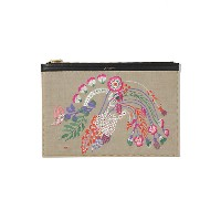 <mame(マメ)> Embroidery Clutch Bag(MM17SSーAC507) ベージュ バッグ~~パーティーバッグ