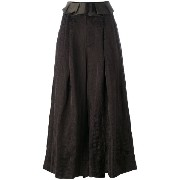 Uma Wang wide leg cropped pants