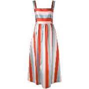 Red Valentino - block striped gown - women - シルク/ポリエステル/アセテート - 44