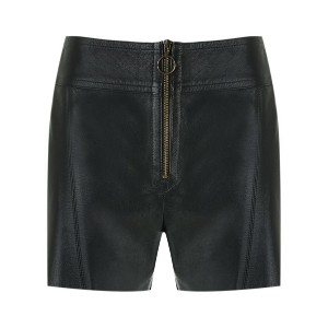 Talie Nk - leather shorts - women - レザー - 42