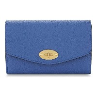 マルベリー mulberry レディース アクセサリー 財布【darley medium grained leather wallet】Porcelain blue
