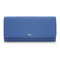 マルベリー mulberry レディース アクセサリー 財布【grained leather continental wallet】Porcelain blue