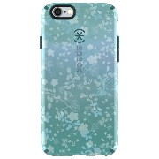 Speck Products CandyShell Inked Case for iPhone 6/6S - Retail Packaging - Overlay Floral Aqua...