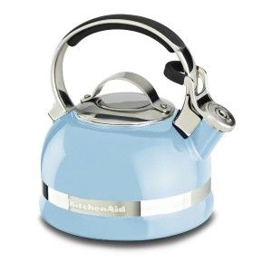 KitchenAid KTEN20SBEU 2.0-Quart Kettle with Full Stainless Steel Handle and Trim Band - Cameo Blue...