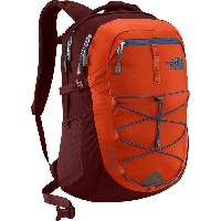 (取寄)ノースフェイス ボレアリス バックパック The North Face Men's Borealis Backpack Tibetan Orange/Sequoia Red