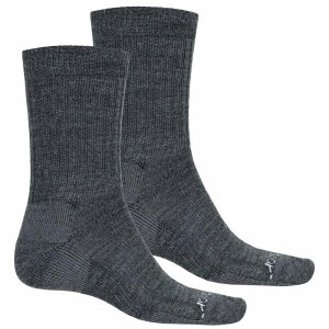 テラマール メンズ インナー ソックス【Terramar Everyday Merino Crew Socks - 2-Pack, Merino Wool 】Grey Heather