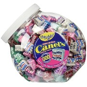 Canel's The Original Chewing Gum 7 Flavors Assortment 300 Count Tub NET WT 3 Lbs 4.91 OZ by CANAL ...