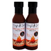 Sugar Free BBQ Sauce (2-pack)(Low Carb, Gluten Free, Diet Friendly) by Simple Girl [並行輸入品]