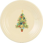 Fiesta 9-Inch Luncheon Plate, Christmas Tree by Homer Laughlin [並行輸入品]
