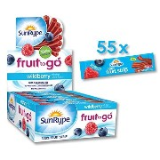 Fruit to Go 100% Fruit Strip (Wildberry) by Sun-Rype [並行輸入品]