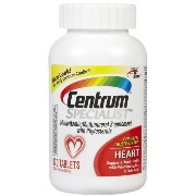 Centrum Specialist Complete Multivitamin Heart with B6/B12/Folic Acid 120 Tablets (3 Pack) by...