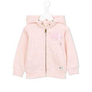 American Outfitters Kids - プリント ジップアップパーカー - kids - コットン - 12歳