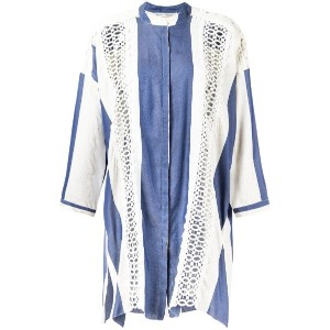 Martha Medeiros - stiped Letícia shirt dress - women - シルク/リネン/モダール - G