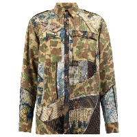 Dries Van Noten patchwork shirt