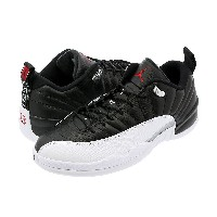 NIKE AIR JORDAN 12 RETRO LOW 【PLAY OFF】 ナイキ エア ジョーダン 12 ロー レトロ BLACK/VARSITY RED/WHITE/METALLIC...