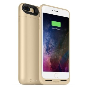 mophie juice pack air for iPhone 7 Plus ワイヤレス充電機能付きバッテリーケース ゴールド【日本正規代理店品】 MOP-PH-000151