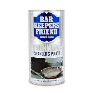 Bar Keepers Friend COOKWARE Cleanser & Polish Powder - 12 Oz. Each Can by Bar Keepers Friend