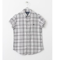 DOORS GYMPHLEX MADRAS CHECK S/S SHIRTS【アーバンリサーチ/URBAN RESEARCH シャツ・ブラウス】