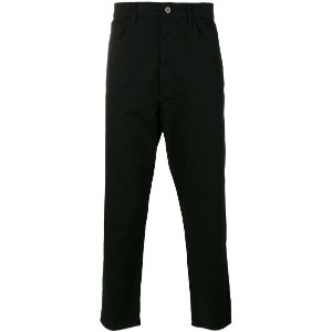 Junya Watanabe Comme Des Garçons Man - cropped tapered jeans - men - コットン/ポリエステル - L
