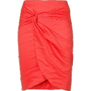 Nicole Miller gathered front skirt