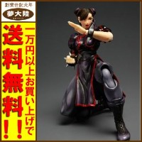 【中古】SUPER STREET FIGHTER IV PLAY ARTS改 春麗 限定カラー黒Ver.[0014]【秋葉原店】