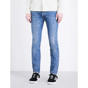 リーバイス levi's メンズ ボトムス ジーンズ【501 regular-fit tapered stretch-denim jeans】Dillinger