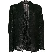 Salvatore Santoro - embossed jacket - men - コットン - 48