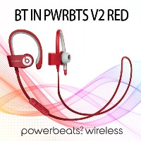 【国内正規品】Beats by Dr.Dre power beats2 wireless BT IN PWRBTS V2 RED [レッド] Wireless Bluetooth対応...