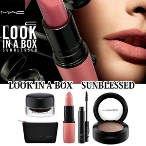 *M.A.C*LOOK IN A BOX リップ&アイ 4点セットポーチ付き【日本未発売★数量限定】MAC/マック look in a box face kit ルックインアボックス フェイスキット