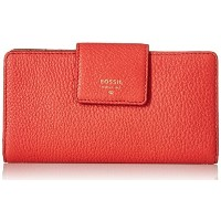 Fossil Sydney Tab Wallet Tomato One Size