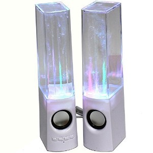 KevenAnna Bluetooth Colorful LED Fountain Dancing Water Speakers for iPhone iPad Cellphone PC ...