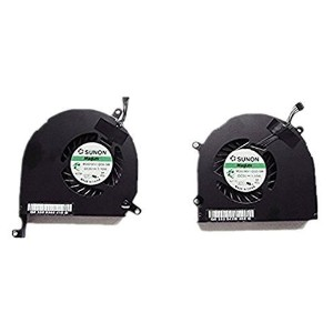 15 A1286 Left+right Side CPU Cooling Fan 2009 2010 2011 for Apple Macbook Pro
