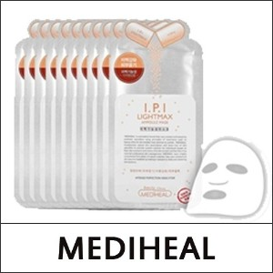 [MEDIHEAL] Ampoule Mask - # IPI Lightmax (10pcs in 1pack)