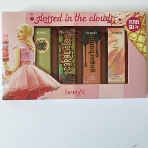 (Benefit Cosmetics) Benefit Cosmetics Limited Edition Travel Set - Glossed in the Clouds Lip Glos...