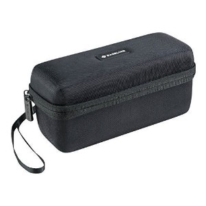 Caseling Hard Case for PECHAM C26 Wireless Portable Bluetooth Speakers. - Mesh Pocket for Cables.