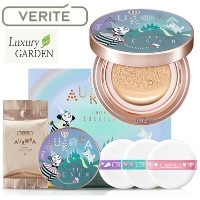 [VERITE] ★Dorothy Edition★ AURORA COVER CUSHION (+Refill 15g +puff 3ea!!)(LIMITED PURPLE EDITION)...