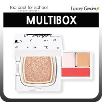 [TOO COOL FOR SCHOOL] DINOPLATZ U.F.O MULTIBOX (BB Foundation + Pore ??Balm + Concealer + Lip and...