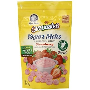 Gerber Graduates Yogurt Melts Strawberry 1 oz (Pack of 7)
