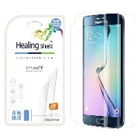 〔Galaxy S6 Edge〕 画面保護フィルム Curved Fit(カーブドフィット) 前面2枚+背面1枚入り HS6287GS6E クリア