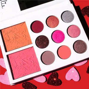 Kylie Jenner Eyeshadow VALENTINES DIARY Eyeshadow kylie valentines collection kyshadow 11 Color