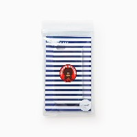 Line Friends Burger Chips Collection Official Brown Stripe iPhone Hard Case
